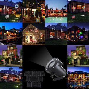PROJECTEUR LASER NOËL 12 motif (remplaçable) mobiles lampes de projecteu