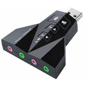 CARTE SON EXTERNE Canal virtuel 7.1CH USB2.0 3d Audio son adaptateur