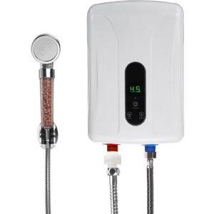CHAUFFE-EAU 5500W Chauffe-eau Electrique Instantané 50Hz 0.02-