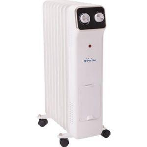 RADIATEUR D'APPOINT Radiateur à huile, 2000 W, 9 éléments, thermostat,