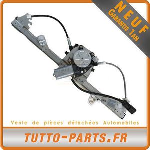 CQX Mecanisme L/ève Vitre avec Moteur Avant Gauche Panda 51801612 46803652 51846385