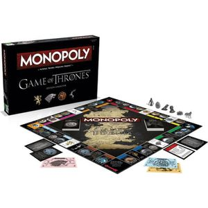 JEU SOCIÉTÉ - PLATEAU GAME OF THRONES Monopoly Edition Collector