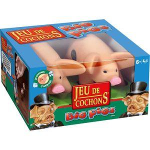 DÉS - JEU DE DÉS JEU DE COCHONS - Big Pigs - Version française