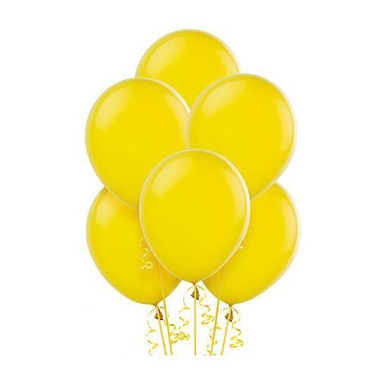 Ballons jaunes (x20).