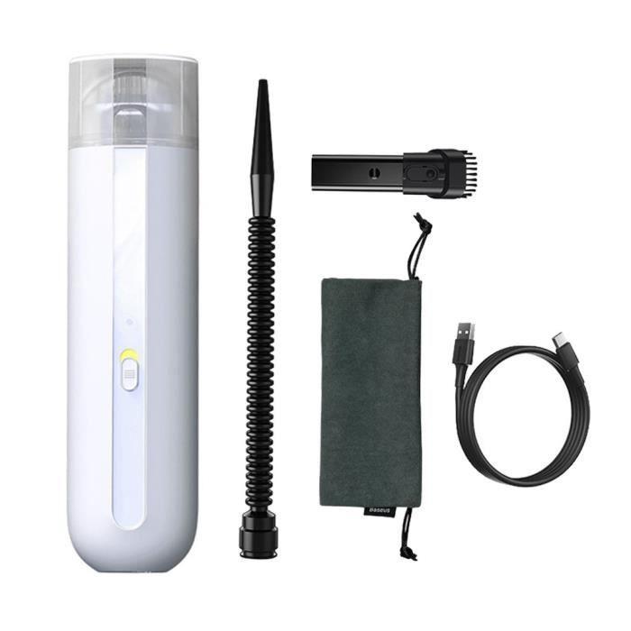 Aspirateur portable aspirateur rechargeable pour le nettoyage à domicile de voiture de poils d'animaux SJJ200826998WH_Gaoqiaoe