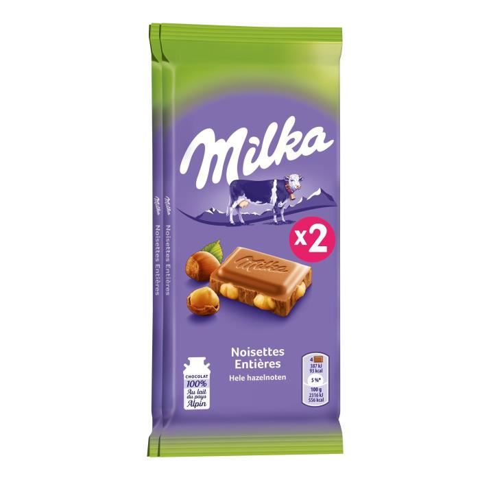 Milka noisette 200 g Milka