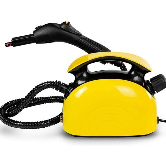 NETTOYEUR VAPEUR ZMIN Steam Mop, Multifonctions Nettoyeur Vapeur - 1500W, Nettoyeur Vapeur Nettoyeur de Tapis de Voiture Laveu384
