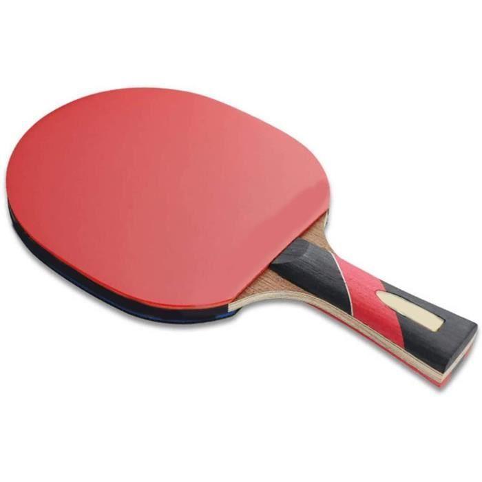 6 Star Raquette de tennis de table professionnelle double face anti-poulet100