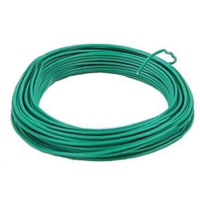 Jardin Coated Fil Coil usine Twist Tie support à cordes en plastique souple