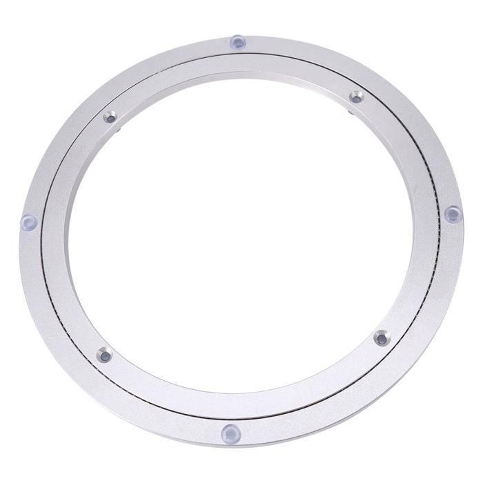 YOSOO Roulement de table Table à manger ronde de plateau tournant de plaque tournante d'alliage d'aluminium résistant