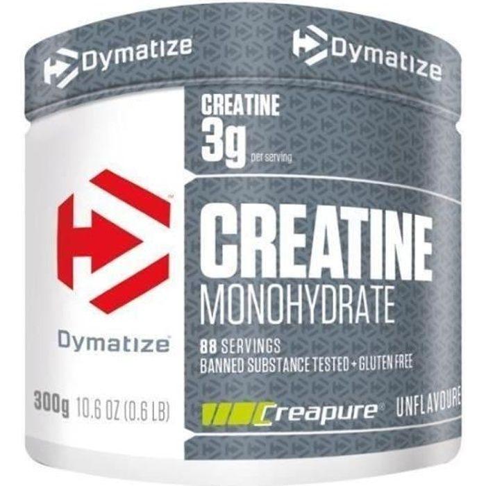 Créatine Monohydrate Créapure Dymatize en Poudre 500 g