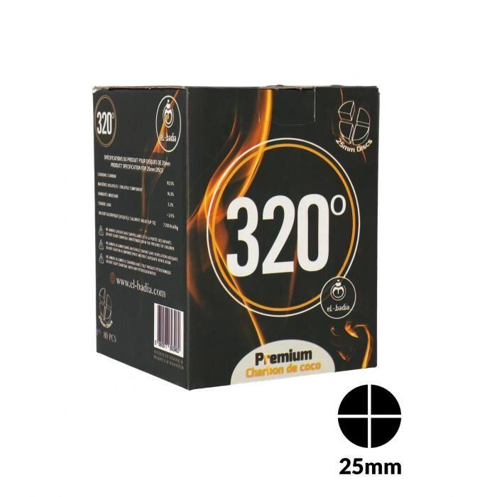 Charbons 320° Disc 4B 1 Kg