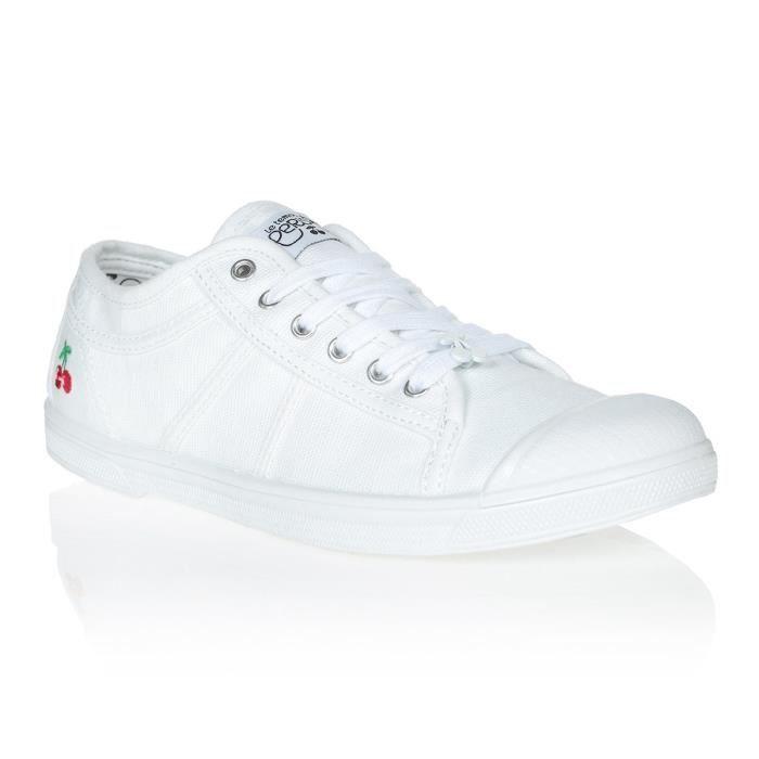 LE TEMPS DES CERISES Chaussures Basic 02 White Blanc Femme