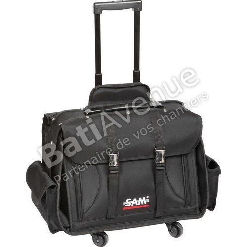 SAM OUTILLAGE BAG-7 Valise textile avec trolley…
