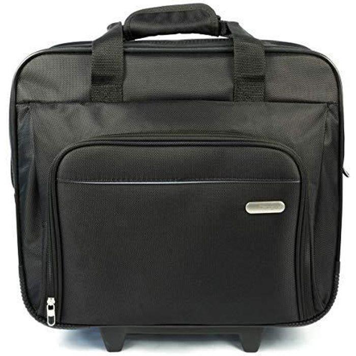 Targus Executive Sac à roulettes pour ordinateur portable 15- à 16- - Noir - TBR003EU