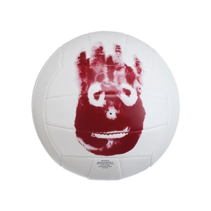 Mini-Ballon Beach-Volley Wilson Seul au monde - blanc-rouge - TU