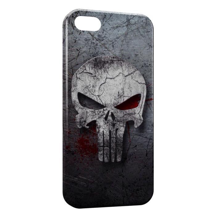 Coque iPhone 5 & 5S The Punisher Art - Cdiscount Téléphonie