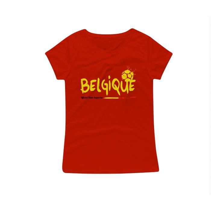 t shirt blason belgique gris nations