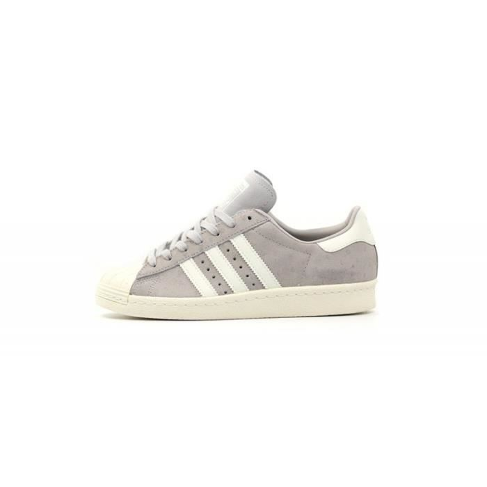 Basket ADIDAS SUPERSTAR 80s - Age - ADULTE, Couleur - GRIS, Genre - FEMME