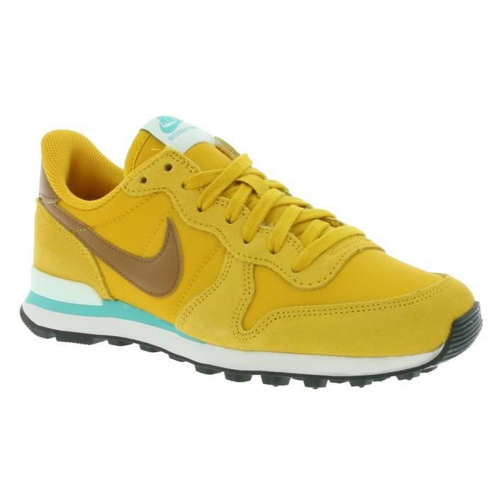 nike wmns internationalist femme jaune
