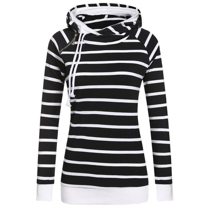 vente officielle 65% prix blanc femme moderne sweat shirt à