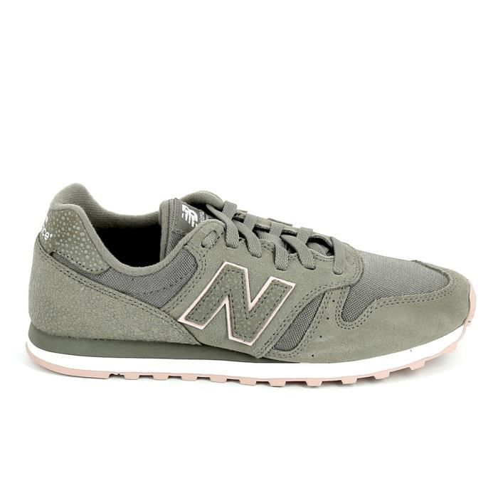 basket new balance kaki