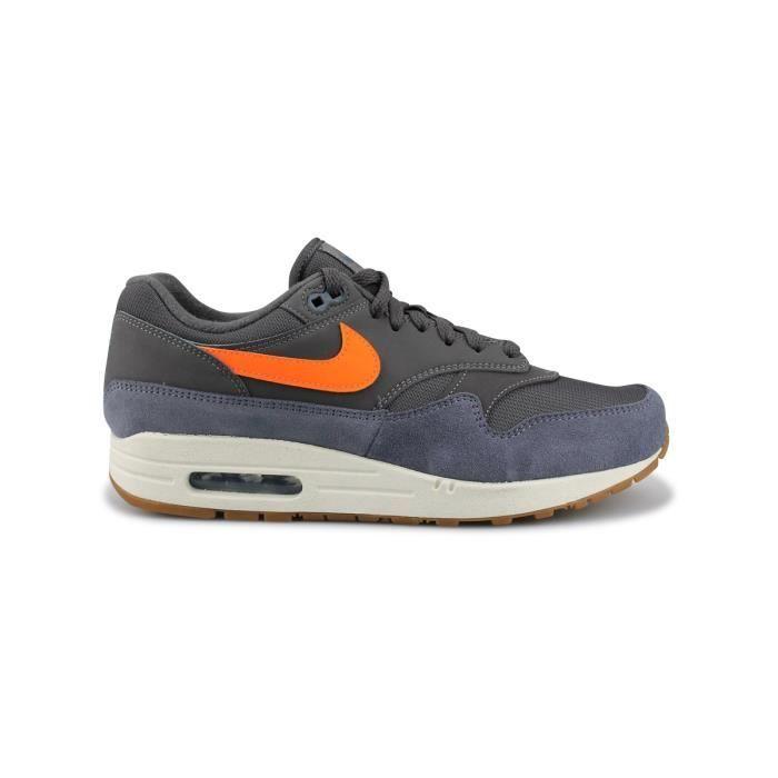 air max 1 gris orange