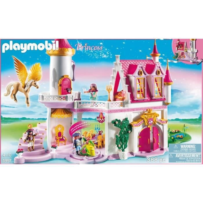 Chateau playmobil princesse for Chateau playmobil 4250