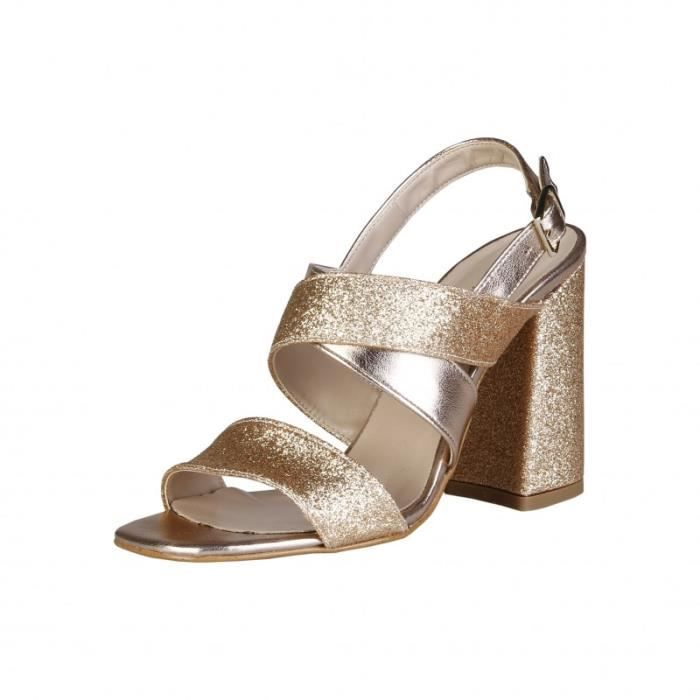 Sandale - Nu-Pieds - Made in Italia - Sandales pour Femme brun Made in Italia