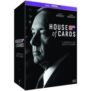 DVD SÉRIE DVD House of Cards - Intégrale saisons 1-2-3-4