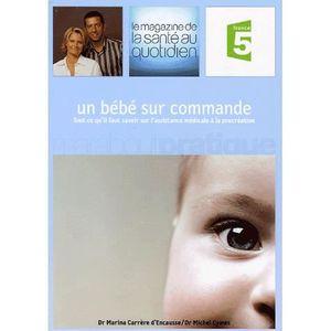 LIVRE ENFANT FAMILLE Un bébé sur commande