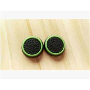 HOUSSE DE TRANSPORT Vert Noir 2pc prise de pouce thumb grip silicone c