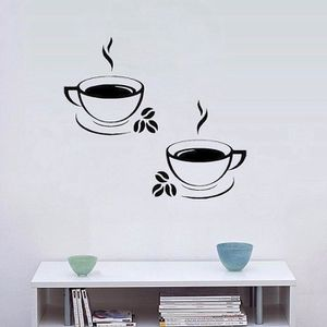 stickers tasse a cafe achat vente stickers tasse a. Black Bedroom Furniture Sets. Home Design Ideas