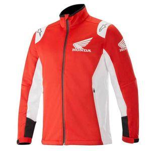 BLOUSON Vêtements Homme Vestes Alpinestars Honda Softshell