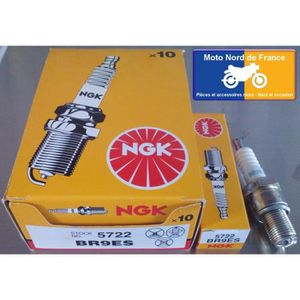4x BOUGIE D/'ALLUMAGE ngk br9es br-9 il moto scooter