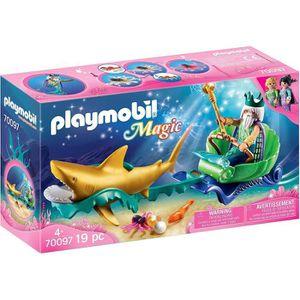 UNIVERS MINIATURE PLAYMOBIL 70097 - Magic Les Sirènes - Roi des mers