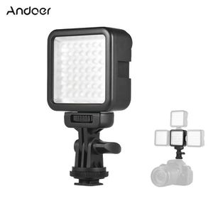 LAMPE ESCLAVE - FLASH Andoer W49S Mini Dimmable Interlock LED Vidéo Lamp