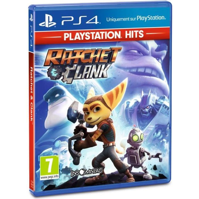 Ratchet & Clank PlayStation Hits Jeu PS4