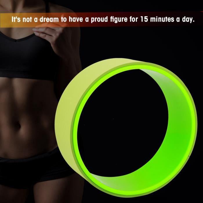 Roue yoga Pilates équilibre accessoires équipement roue courbure Stretch Bend cercle santé Fitness GYM -Antidérapage HB041 -COO
