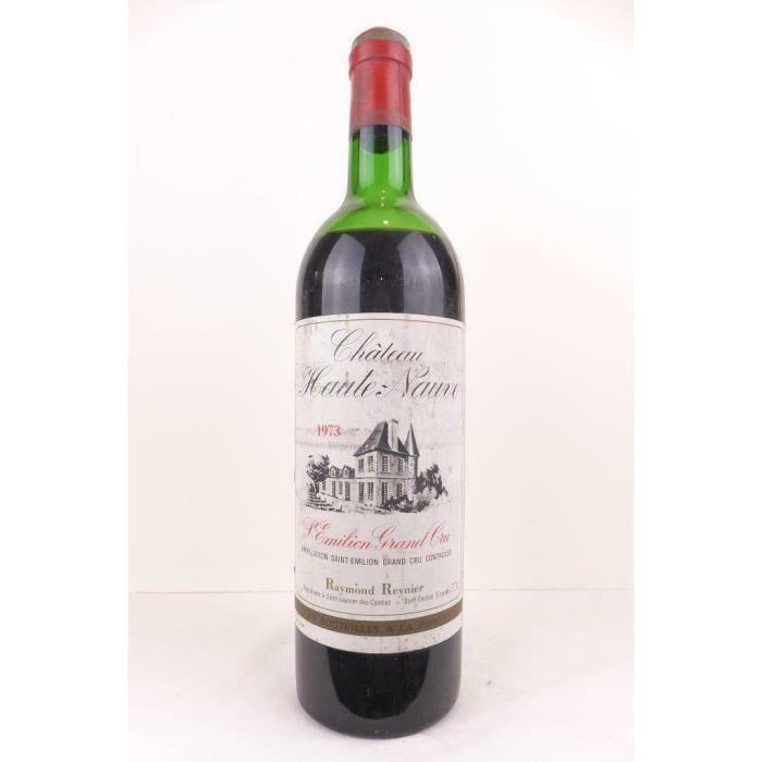 saint-émilion château haute-nauve grand cru rouge 1973 - bordeaux