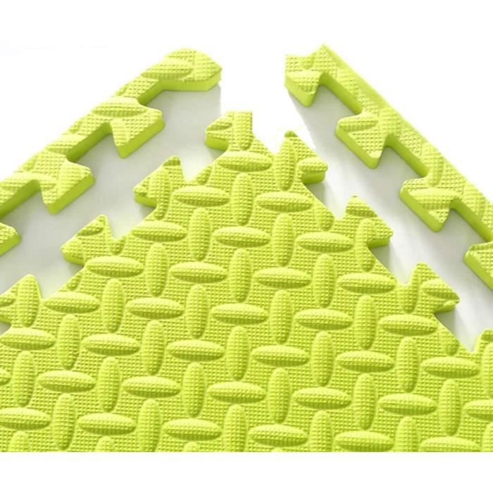 Puzzles de sol WAJIEFD Tapis Mousse Enfant Exercice Interverrouillage Sol Carrelage Accueil Chambre Tapis Bébé Antidérap 320165
