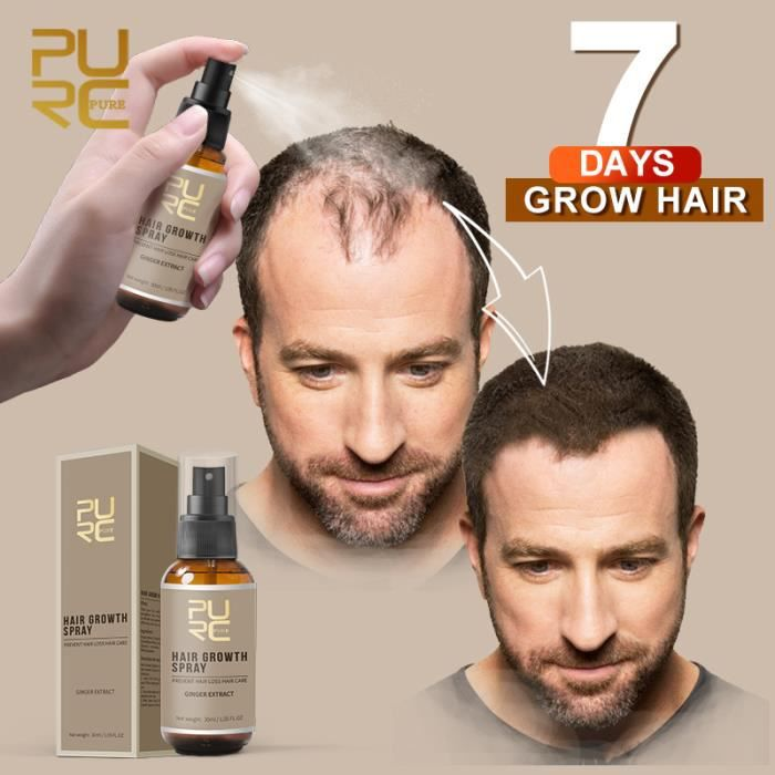 ABU4 PURC Hair Growth Spray Oil For Hair Fast Growing Loss Treatment Thinning Preventing Hair Care Products 30ml for Men Women