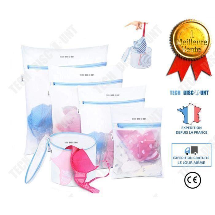 TD sac de lavage machine a laver chaussure lingerie soutien gorge voyage sale enfant delicat protection lave-linge seche panier