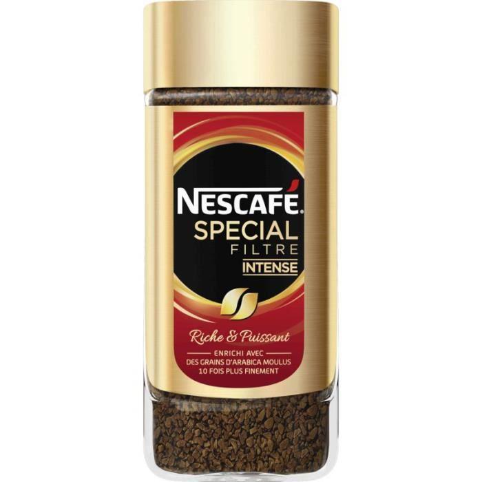 NESCAFE Café soluble Spécial Filtre Intense - 100G