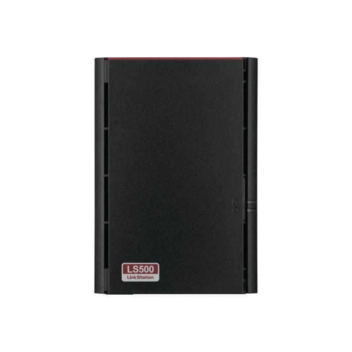 Buffalo Système de stockage Nas Linkstation 2 x Total de compartiments Realtek Dual core (2 cœurs) 1 Ghz 256 Mo Ram
