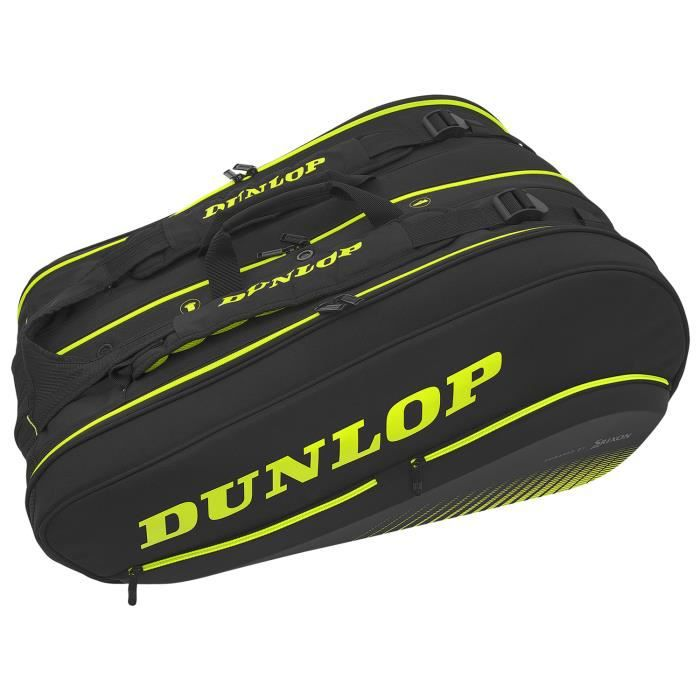 Sac Dunlop SX Performance Thermo 12R - Couleur:Noir Type Thermobag:12 raquettes