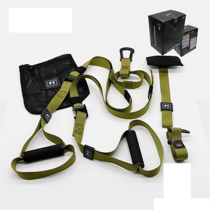 Elastique de Résistance Musculation Fitness Pro 2 Vert