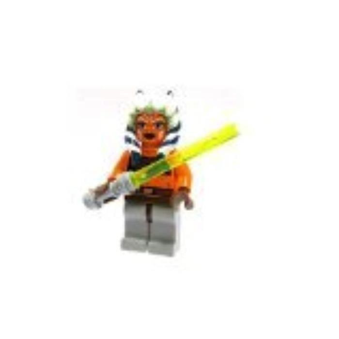 Jeu D'Assemblage LEGO SALOE Star Wars Minifigure Ahsoka Avec Clone Wars Lightsaber