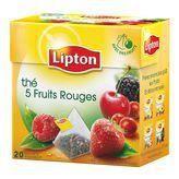 Thé 5 fruits rouges 20x Lipton