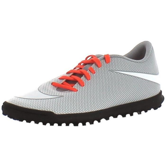 Nike - Nike Bravatax II Tf Chaussures de Football Homme Gris